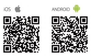 QR-Code App stores